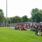 Mankto East vs. West soccer crowd.