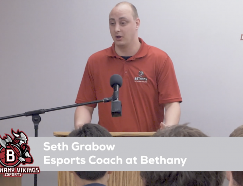 Seth Grabow to Coach Bethany's New Esports Program